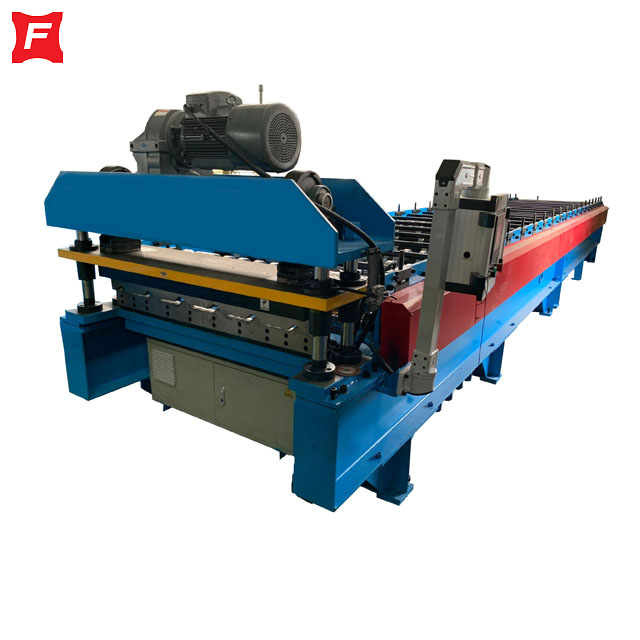 Electric Cut Roll Forming Machine