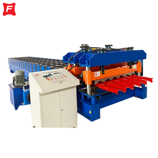 Arc cutting Glazed Tile Forming Machine