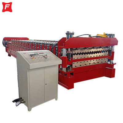 Hydraulic Pre Cut Double Forming Machine
