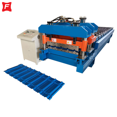 Steptile Glazed Tile Roll Forming Machine