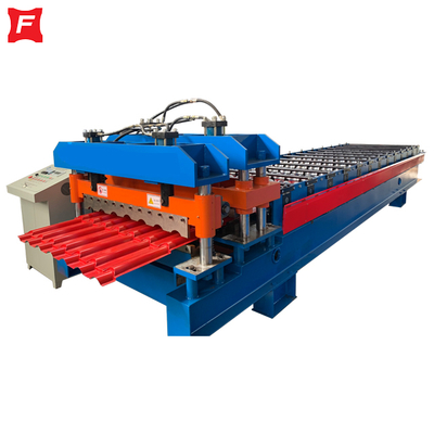 Metcoppo Glazed Tile Roll Forming Machine