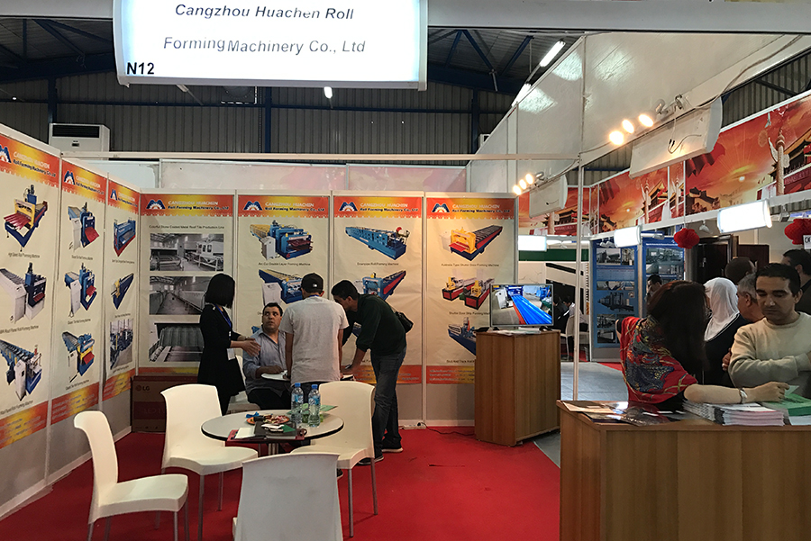 In 2019, participate Algeria Building Material Exhibition.