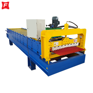S Profile Corrugated Roll Forming Machine