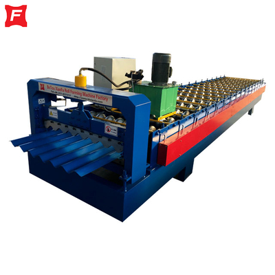 Deep Corrugated Sheet Roll Forming Machine